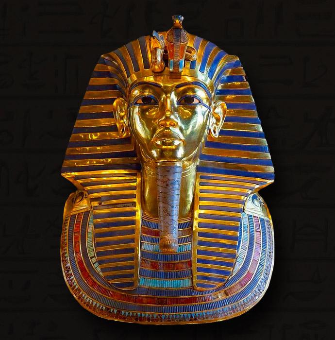 Pharao Mask Pharaomaske Egyptian God Pharaonenmaske Carnival Tutankhamun